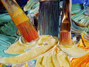 Чем отличаются художественные кисти и как их правильно выбирать. Ярмарка Мастеров - ручная работа, handmade.