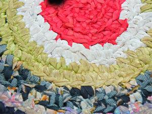 Как своими руками сделать лоскутный коврик за 1 день. Ярмарка Мастеров - ручная работа, handmade.