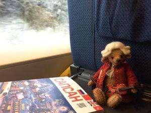Большое путешествие маленького Моцарта, часть 1. Ярмарка Мастеров - ручная работа, handmade.