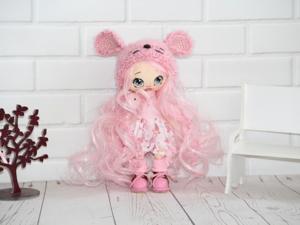 Предновогодняя скидка на текстильную куколку Masha (16см). Ярмарка Мастеров - ручная работа, handmade.