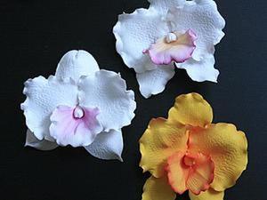 Создаем орхидею из фоамирана. Ярмарка Мастеров - ручная работа, handmade.