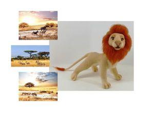 Мастер-класс по изготовлению гривы для льва. Ярмарка Мастеров - ручная работа, handmade.