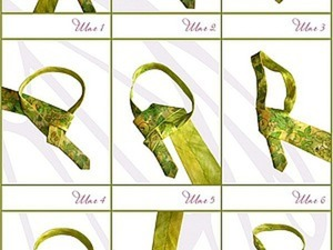 Мастер-класс по завязыванию галстука. Ярмарка Мастеров - ручная работа, handmade.
