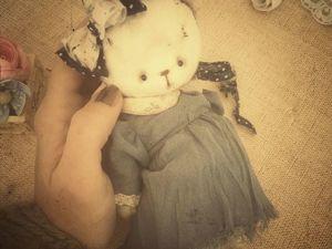 Шьём винтажное платьишко для Мишеньки. Ярмарка Мастеров - ручная работа, handmade.