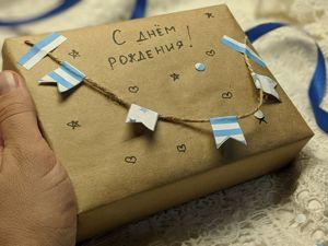 Как упаковать подарок мальчику. Ярмарка Мастеров - ручная работа, handmade.