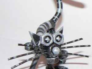 Кот из металла своими руками. Ярмарка Мастеров - ручная работа, handmade.