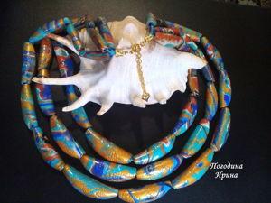 Creating Beads in Interesting Technique. Livemaster - handmade