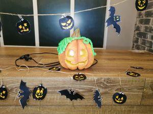 Джек Фонарь. Делаем для Хэллоуина светильник в виде тыквы. Ярмарка Мастеров - ручная работа, handmade.