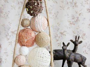Создаем интерьерную композицию «Эко-ёлочка». Ярмарка Мастеров - ручная работа, handmade.