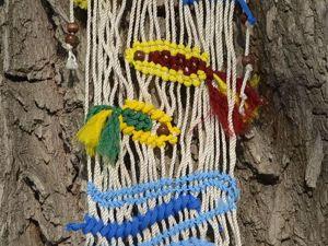 Расхламление Рукоделия. Панно  «Рыбки»  из запасов и остатков. Ярмарка Мастеров - ручная работа, handmade.