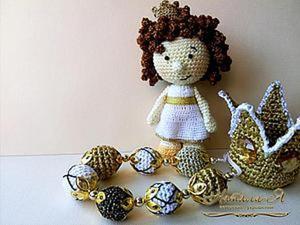 Мастер-класс: вяжем крючком Принцессу Альку. Ярмарка Мастеров - ручная работа, handmade.