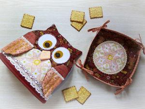 Новинка в магазине: Подарочные наборы для кухни из натурального хлопка. Ярмарка Мастеров - ручная работа, handmade.
