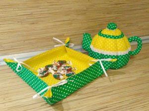 Шьем текстильный чайник. Ярмарка Мастеров - ручная работа, handmade.