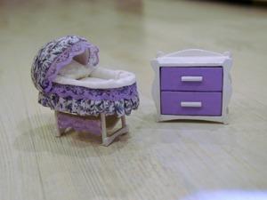 Видео мастер-класс: делаем миниатюрный комод для кукол. Ярмарка Мастеров - ручная работа, handmade.