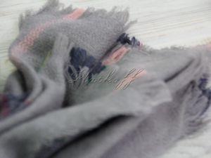 Ликвидация тканных палантинов  «Шотландский Алан»  со скидкой 60% — 560 руб. Ярмарка Мастеров - ручная работа, handmade.