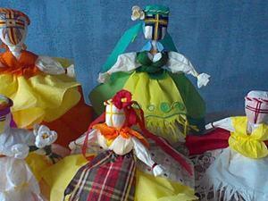 Изготовление куклы-мотанки. Ярмарка Мастеров - ручная работа, handmade.