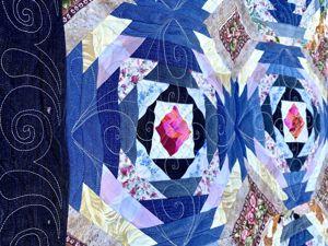 Шьем из старых джинсов. Сезон 2, серия 5. Стежка лоскутного одеяла. Ярмарка Мастеров - ручная работа, handmade.