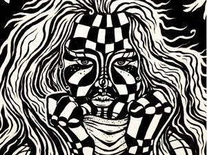 «20/20»  (акрил, холст) Mazaver Art. Ярмарка Мастеров - ручная работа, handmade.