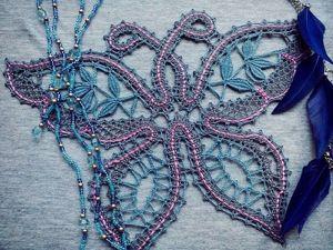 Сумеречная бабочка. Ярмарка Мастеров - ручная работа, handmade.