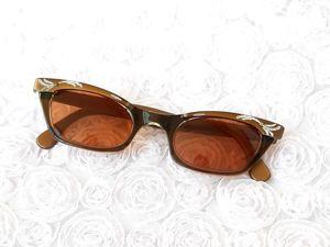 Доп.фото. Солнцезащитные очки 50ых годов. Ярмарка Мастеров - ручная работа, handmade.