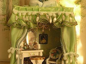 Создаем будуар императрицы в обычном будильнике. Ярмарка Мастеров - ручная работа, handmade.