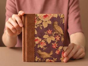 Акция «Блокнот в подарок». Ярмарка Мастеров - ручная работа, handmade.
