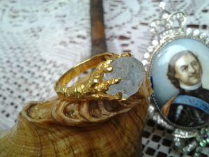 Видео: Кольцо,серебро,аквамарин. Ярмарка Мастеров - ручная работа, handmade.