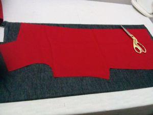 Красное и черное. Пошив пальто. Ярмарка Мастеров - ручная работа, handmade.
