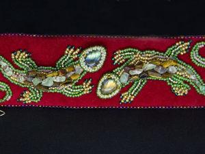 Вышиваем браслет «Ящерицы» бисером и камнями. Ярмарка Мастеров - ручная работа, handmade.