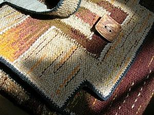 Создаем тканую сумку. Часть 1. Ярмарка Мастеров - ручная работа, handmade.