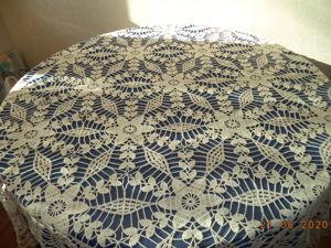 Вязанные скатерти модно или старомодно. Ярмарка Мастеров - ручная работа, handmade.