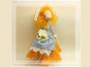 Тонкости создания текстильной куклы на каркасе. Ярмарка Мастеров - ручная работа, handmade.