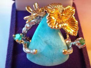 Купи кольцо, получи серьги  в подарок!. Ярмарка Мастеров - ручная работа, handmade.