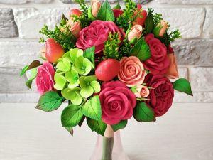 Искусственные цветы, а пахнут, как настоящие!. Ярмарка Мастеров - ручная работа, handmade.