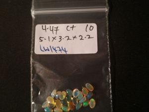Опалы 4,47 карат 24 шт. Эфиопия натуральные камни. Ярмарка Мастеров - ручная работа, handmade.