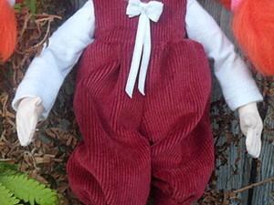 Шьем комбинезон для куклы. Ярмарка Мастеров - ручная работа, handmade.