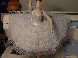 """Как я делала Балерину """"Белый Лебедь"""". Ярмарка Мастеров - ручная работа, handmade."""