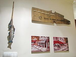 Декоративное панно из старой доски. Ярмарка Мастеров - ручная работа, handmade.