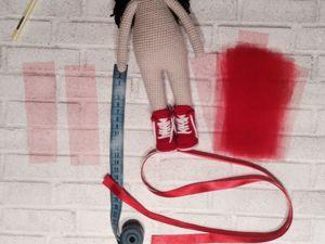 Сапожки для кукол МК. Ярмарка Мастеров - ручная работа, handmade.
