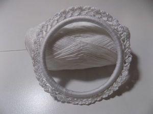 Мастер-класс: как обвязать кольцо и превратить в красивую декоративную рамку. Ярмарка Мастеров - ручная работа, handmade.