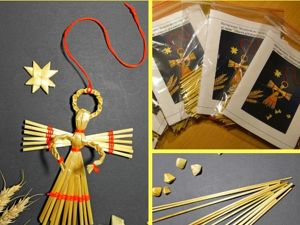 Мастер-класс  «Ангелочек»  из соломки. Ярмарка Мастеров - ручная работа, handmade.