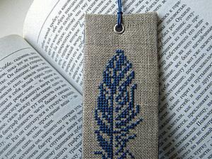 """Мастер-класс """"Закладка для книги"""". Ярмарка Мастеров - ручная работа, handmade."""