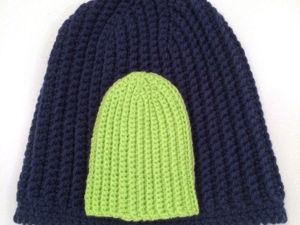 Видео мастер-класс: вяжем шапку бини крючком. Ярмарка Мастеров - ручная работа, handmade.