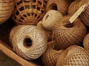 Какой джут взять для вязания?. Ярмарка Мастеров - ручная работа, handmade.