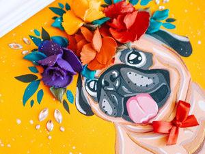 Для какого интерьера подходит Объемная Иллюстрация?. Ярмарка Мастеров - ручная работа, handmade.