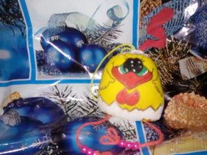 Делаем цыпленка — символ Нового 2017 года. Ярмарка Мастеров - ручная работа, handmade.