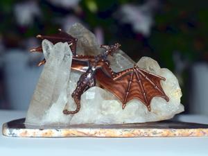 «Дракон ледяных вершин»  — новая интерьерная композиция. Ярмарка Мастеров - ручная работа, handmade.