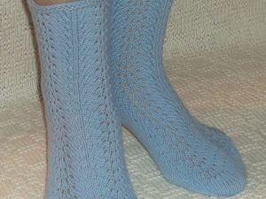 Скидка на вязаные носочки 20- 25%. Ярмарка Мастеров - ручная работа, handmade.