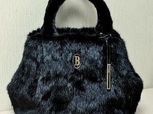 Шьем сумку из меха норки. Ярмарка Мастеров - ручная работа, handmade.