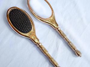 Набор  «Зеркало и расческа» . Златоуст z79. Ярмарка Мастеров - ручная работа, handmade.